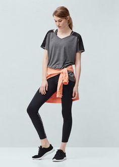 Yoga - Multi-way stretch Running t-shirt