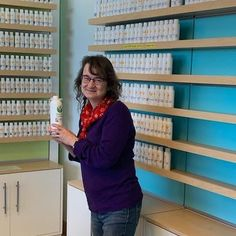 Another pic of one of our customers choosing their favorite Natures Garden fragrance oil in the store! #naturesgarden #fragranceoils #visitourstore #fragrancefun #ngscents