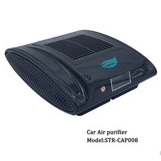 Portable air purifier for car powered by car adapter high efficient air cleaning and refreshing with aroma stick