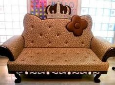 Cheetah Hello Kitty Couch