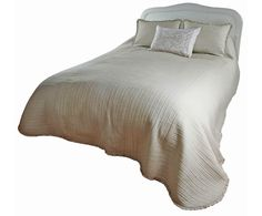 Devon Ecru muslin bedspread sizes up to super king 300 x other shades available Luxury Bedspreads, Lavender Bags, Toilet Roll Holder, Silk Taffeta, Tissue Box Covers, Covered Boxes, Bed Spreads, Devon, White Lace