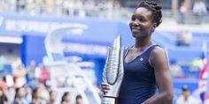 Agen Bola - Venus Williams mantan petenis putri no.1 dunia yang berasal dari Amerika Serikat berhasil menggondol gelar juara Wuhan Open 2015 setelah lawannya Garbine Muguruza yang berasal dari Spanyol berhenti di set ke-dua.