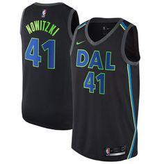 e13c3d83b New 2018 Nike NBA Dallas Mavericks Dirk Nowitzki 41 City Edition Swingman  Jersey