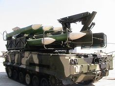 BUK M1-2 self-propelled launch system (Russia)