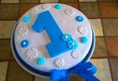 Torta per Leonardo 1° compleanno in pdz
