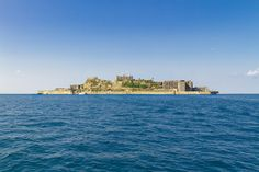Gunkanjima Island from the Sea - Hashima Island - Wikipedia, the free encyclopedia