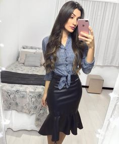 Tips For Understanding Women's Fashion Without You Hesitating! – Designer Fashion Tips Casual Skirt Outfits, Girl Outfits, Fashion Outfits, Modest Fashion, Love Fashion, Womens Fashion, Fashion Design, Mormon Fashion, Look Chic