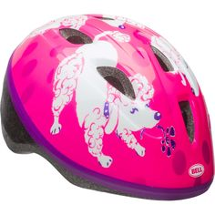 Bell Sports 7084250 Sprout Girls Infant Helmet Pink/Purple Poodles