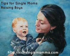 Tips for Single Moms Raising Boys