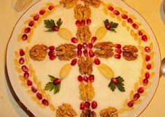 Greek Desserts, Greek Recipes, Vasilopita Recipe, Shell Crafts, Food Styling, Holiday Recipes, Decoration, Diy And Crafts, Recipies