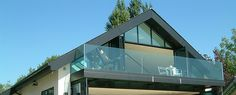 top fixed glass balustrade - Google Search