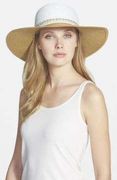 Pin for Later: 25 Ways to Get Pretty in Pearls This Spring BCBGeneration Pretty Pearl Floppy Hat BCBGeneration Pretty Pearl Floppy Hat (£30)