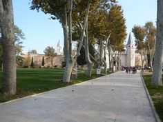 Heading toward Topkapı Palace.