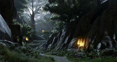 [UE4] Forest Valley (WIP), William Faucher on ArtStation at http://www.artstation.com/artwork/ue4-forest-valley-wip