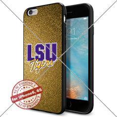 WADE CASE LSU Tigers Logo NCAA Cool Apple iPhone6 6S Case #1263 Black Smartphone Case Cover Collector TPU Rubber [Gold] WADE CASE http://www.amazon.com/dp/B017J7J33G/ref=cm_sw_r_pi_dp_LQZ1wb1B30SVV