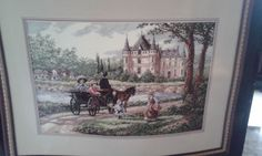 Dimensions The Gold Collection M'Lady's Chateau Counted Cross Stitch Kit #DimensionsTheGoldCollection #BuildingsMonuments