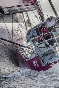 Boating | August 2014 - Volvo Ocean Race - Photo by Ainhoa Sanchez