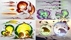 Image result for 2d attack animation concepts