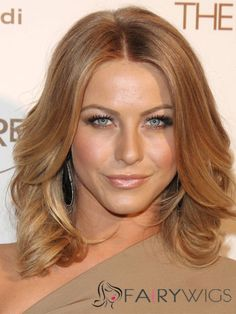 Julianne Hough Hairstyle Medium Wavy Full Lace Human Hair Bob Wigs Julianne Hough Hair, Best Human Hair Wigs, Wig Hairstyles, Medium Hair Styles, Hair Inspiration, Bob, Celebrities, Lace, Bucket Hat