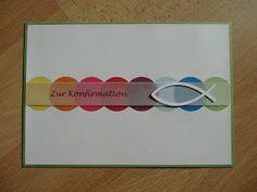 Jenny's Papierwelt: ~ Karten zur Konfirmation / Kommunion ~