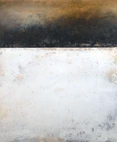 Suzanne Hazlett | 'Freshly Fallen', mixed media, encaustic on panel