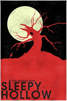 Sleepy Hollow (1999) ~ Minimal Movie Poster by Christian Frarey