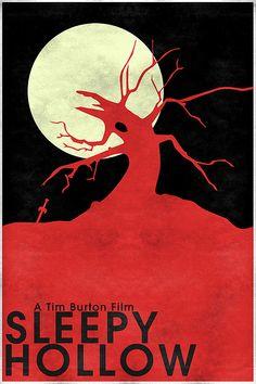 Sleepy Hollow (1999) ~ Minimal Movie Poster by Christian Frarey
