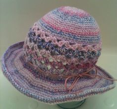 Crochet Floppy Hat ... .. Women's Hat.... by GloriasHandCreations