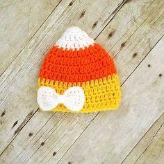 Adorable crochet baby hat.