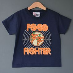 Food Fighter Child's Unisex Rock Tshirt