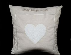 """Heart Pillow"" by Dee Engleking"