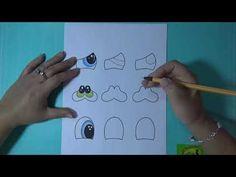 Como Hacer Ojitos para trabajar en Foamy, Goma Eva, Microporoso (Handmade Craft)❤️ - YouTube Youtube, Make It Yourself, Videos, Eyes, Girls, Paper, Drawings Of Eyes, How To Draw, Sunday School