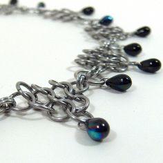 #chainmaille #blackbirdmaille Captured Blue Star | Flickr - Photo Sharing!