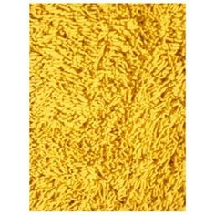 shag yellow area rug.
