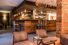 Nira Montana, Restaurant & SPa, La Thuile (AO) - HI LITE Next #lighting #design #fixtures @AxoLight Spillray #Foscarini Allegretto Vivace