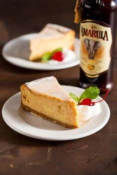 I adore cheesecake. I adore dark chocolate. I love Amarula. How could a combination of these not be absolutely delicious? South African Dishes, South African Recipes, Cheesecake Recipes, Dessert Recipes, Baileys Cheesecake, Donuts, Cupcakes, Baking Recipes, High Tea
