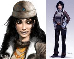 Arte conceptual de Dreamfall: The Longest Journey. Videojuego noruego  Concept Art Dreamfall: The Longest Journey. Norwegian videogame