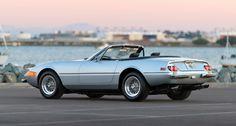 Ferrari 365 Daytona Spider by Scaglietti 1973 Most Expensive Car Ever, Expensive Cars, Convertible, Ferrari, Car Pictures, Car Pics, Automotive Art, Barn Finds, Buy Tickets