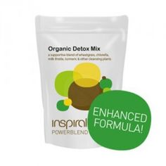 Our ever popular Organic Detox Mix has now been upgraded with a brand new formula!   Featuring organic wheatgrass, turmeric, reishi mushroom and chlorella, it's a great way to support your body's natural cleansing process and shine from the inside out.