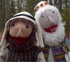 people puppet pattern