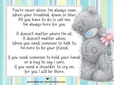 ♥ Tatty Teddy ♥ You're never alone... ♥