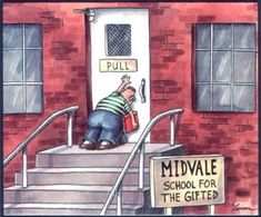 I miss The Far Side Didnt realize how much until I pulled this move in the bathroom today #funny #miss #didnt #realize #pulled #move #bathroom #humor #comedy #lol