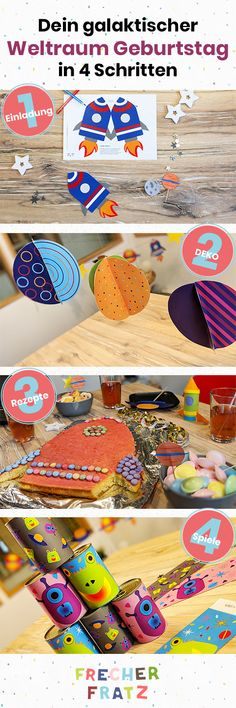 Your little frat wants a space birthday? No problem! We& show you how to quickly and easily find the coolest astronaut party in the world! Crafts For Boys, Diy For Kids, Astronaut Party, Happy Anniversary Quotes, Aunt Gifts, Space Party, Birthday Celebration, Diy Gifts, Happy Birthday