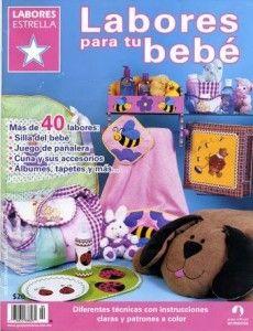 Labores para tu bebé, una revista muy completa con mas de 40 labores para hacer. Labores para tu bebé, descarga la revista gratis en español.