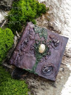 Earth Elemental Book of Shadows - Journal - Spell Book - Notebook - Witch Book - Witchcraft Book - Alternative Book - Unique Book of Shadows