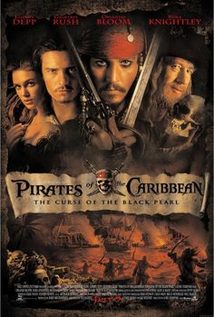 Pirates of the Caribbean: The Curse of the Black Pearl (2003) - Johnny Depp, Orlando Bloom, Kiera Knightley, Geoffrey Rush, Jack Davenport