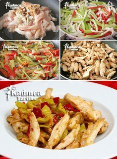 Chicken Fajitas Recipe, How To? - Womanly Recipes - Delicious, Practical and Most Delicious Recipes Site Chicken Fajitas Recipe, How To? - Womanly Recipes - Delicious, Practical and Most Delicious Recipes Site Best Steak Fajitas, Beef Fajitas, Chicken Fajitas, Beef Fajita Recipe, Homemade Fajita Seasoning, Meat Recipes, Mexican Food Recipes, Dinner Recipes, Chicken Recipes