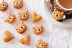 Home baked Bear Macaron – this is too cute!!!!!!
