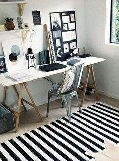 New semester new workspace: Inspiration.