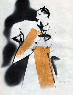 Harper's Bazaar, March 1950 - Lillian Bassman